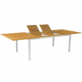 "Three Birds Soho Teak 115"" Rectangle Extension Table"