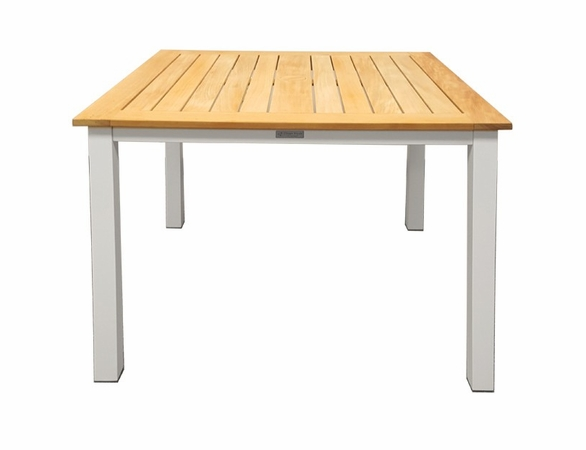 "Three Birds Soho Teak 36"" Square Counter Height Table"