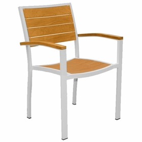 Three Birds Soho Teak Stacking Arm Chair