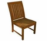Three Birds St. Lucia Teak Dining Side Chair