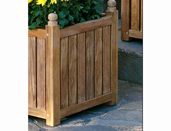 Three Birds Teak Flower Box - Multiple Sizes