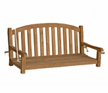 Three Birds Victoria Teak 4' Garden Swing