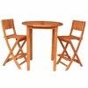 Tidewater 2 Seat Outdoor Bar Set