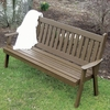 Traditional English Garden Bench 4', 5' or 6'