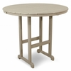 TREX Monterey Bay Round 48 Inch Bar Table