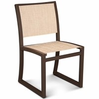 TREX Parsons Cube Dining Sling Side Chair