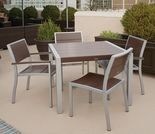 TREX Surf City 4 Seat Dining Set