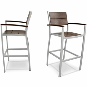 TREX Surf City Bar Chairs (Pair)