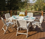 TREX Yacht Club 6 Seat Dining Set