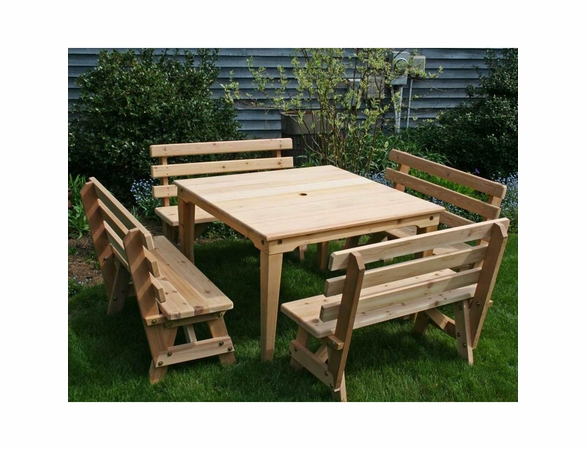 Union Dining Set - Cedar