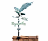 Verdigris Copper Eagle Weathervane