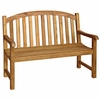 Three Birds Victoria Teak 4' Garden Bench