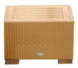 Wave Wicker Side Table - 3 Color Options - Special Closeout Pricing