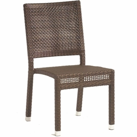 Whitecraft by Woodard All-Weather Miami Wicker Miami Dining Side Chair