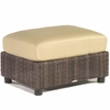 Whitecraft by Woodard Aruba Wicker Ottoman