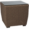 Whitecraft by Woodard Augusta Wicker Woven End Table