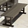 Whitecraft by Woodard Augusta WWoodland Dining Bench