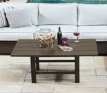 Whitecraft by Woodard Augusta Woodland Rectangular Coffee Table