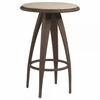 Whitecraft by Woodard Bali Wicker Bar Table w/ Woven or Stone Top