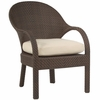 Whitecraft by Woodard Bali Wicker Dining/Occasional Chair