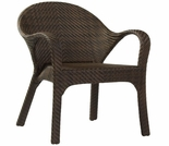 Whitecraft by Woodard Bali Wicker Small Dining Chair