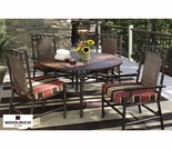 Whitecraft by Woodard Chatham Run 4 Seat Dining Set