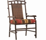 Whitecraft by Woodard Chatham Run Wicker Dining Arm Chair