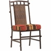 Whitecraft by Woodard Chatham Run Wicker Dining Side Chair