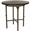 Whitecraft by Woodard Chatham Run Wicker Heartwood Bar Table with Faux Top