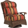 Whitecraft by Woodard Chatham Run Wicker Swivel Lounge Chair