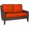 Whitecraft by Woodard Mona Wicker Loveseat