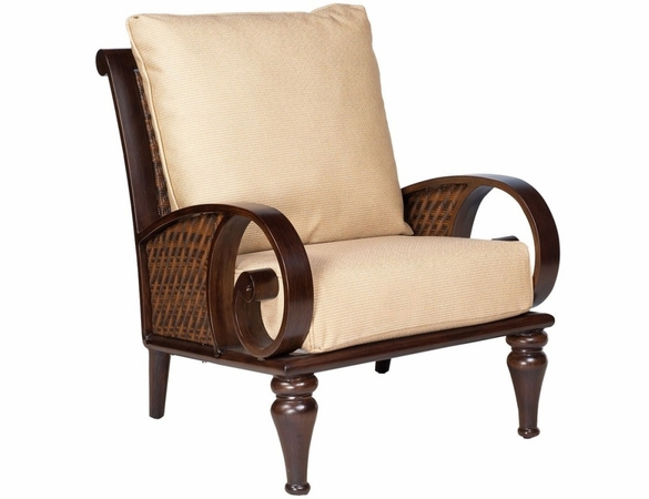 Whitecraft by Woodard North Shore Wicker Lounge Chair
