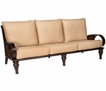 Whitecraft by Woodard North Shore Wicker Sofa
