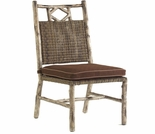 Whitecraft by Woodard River Run Wicker Dining Side Chair