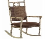 Whitecraft by Woodard River Run Wicker Small Rocker