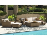 Whitecraft by Woodard Saddleback Sofa Seating Set