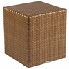 Whitecraft by Woodard Sedona Wicker Bunching Table