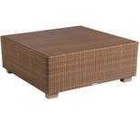 Whitecraft by Woodard Sedona Wicker Square Coffee Table