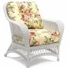 Whitecraft by Woodard Sommerwind Wicker Lounge Chair