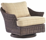 Whitecraft by Woodard Sonoma Wicker Swivel Lounge Chair