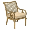 Whitecraft by Woodard South Shore Wicker Dining Arm Chair