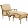 Whitecraft by Woodard South Shore Wicker Lounge Chair