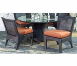 Whitecraft by Woodard Trinidad 4 Seat Dining Set