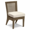 Whitecraft by Woodard Trinidad Wicker Dining Side Chair