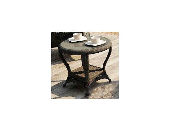 Wicker Catalina End Table