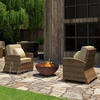 Wicker Forever Patio 2 Pc Cypress Seating Chat Set