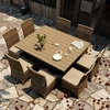 "Wicker Forever Patio 9 Pc Cypress  60"" Square Dining Set"