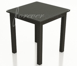 "Wicker Forever Patio Barbados 30"" Square Pub Height Table"