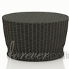 """Wicker Forever Patio Barbados 34"""" Round Chat Table"""