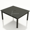 "Wicker Forever Patio Barbados 60"" Square Dining Table"